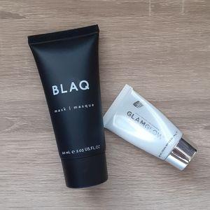 Mask Duo - Blaq Charcoal & Glamglow Supermud mask